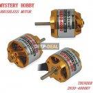 Mystery D2830-4000 Outrunner Brushless Motor for RC plane