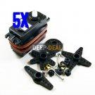 5pcs 36g/3.9kg Standard Servo S3003 2X bearing SG5010