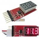 Li-Po 2S-6S LED Battery Voltage Indicator Checker Tester
