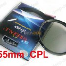 55mm Circular Polarizing C-PL PL-CIR CPL Filter
