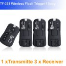 Pixel TF363 Wireless Flash Trigger Sony 1 Transmitte 3 Receiver flashgun trigger