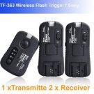 Pixel Pawn TF363 Flash Trigger f Sony 1 Transmitte 2 Receiver flashgun trigger