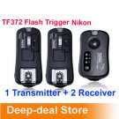 pixel TF372 Wireless Flash Trigger for Nikon with 2 Receiver nikon SB900 SB800