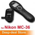 Wireless Timer Remote Shutter Release nikon MC-36 D700 D300 D200 D300s D100