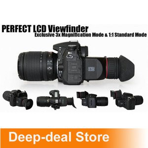 """3"""" LCD Foldable Viewfinder 3x Magnification f 7D 60D T2i 550D Canon 5D Mark II"""