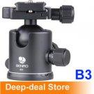 Benro b-3 Ballhead +PU-70 Quick Release Plate Benro b3 double action ballhead