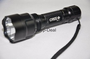 UltraFire C8-T6 1300Lm CREE XM-L T6 LED Flashlight 5 Modes