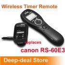 Wireless Timer Remote Shutter Release f Canon Rebel T3i T2i T1i XSi XS RS-60E3