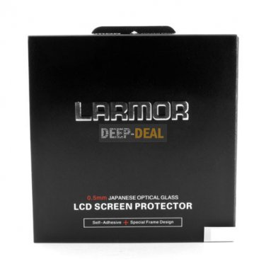 GGS Self-Adhesive Optical Glass LCD Screen Protector for nikon D5100