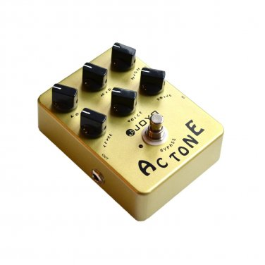 Joyo JF-13 AC Tone Low Mid High frequency response Distortion & Drive Guitar effects pedal
