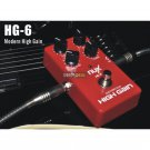 NUX HG-6 Distortion High Gain Effect Pedal FET simulate Distortion of Tube Amp