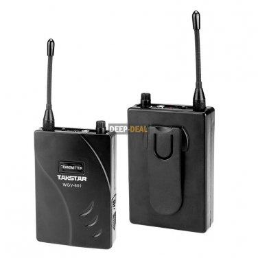 Takstar WGV 601 Guitar & Bass Wireless Cordless System Transmitter Receiver Kit
