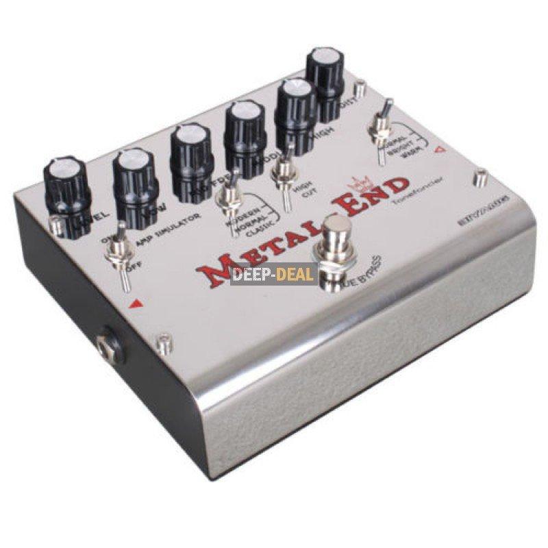 biyang metal end king distortion guitar effects pedal. Black Bedroom Furniture Sets. Home Design Ideas