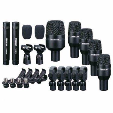 Takstar DMS-D7 Drum Set Series Black Series Drum Kit 7 Microphones drum microphone kits