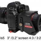 """GGS Swivi S5 Viewfinder for DSLR Camera with 3""""/3.2"""" 3:2/4:3 LCD Screen"""