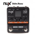 NUX Drive Force Modeling Stomp Simulator Guitar Effect Pedal 10 Modeling Stompbo