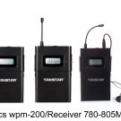 Takstar WPM 200R In Ear Stage Wireless Monitor System Receiver 780-805MHz 3pcs