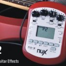 NUX PG-2 Portable Guitar Effects Chromatic/Guitar Tuner Metronome