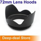72 mm Flower Camera Hood Petal 72mm Lens Hood Petal Crown Flower Shape