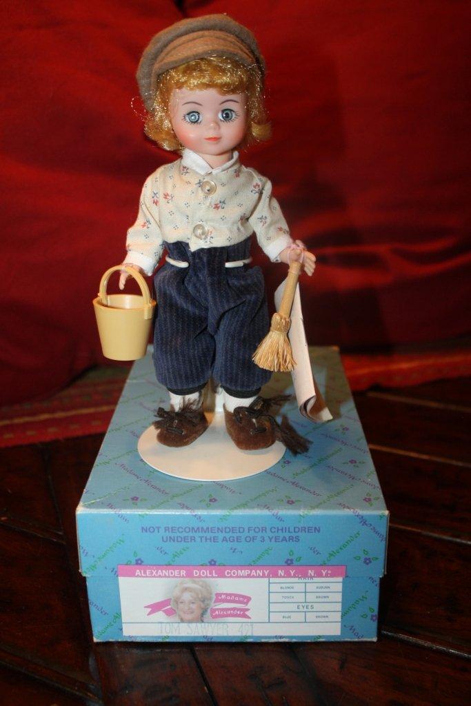 Tom Sawyer 491 MINT condition Madame Alexander Doll
