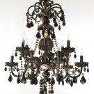 Maria Theresa Black 12 Light Chandelier 28x30  BLOWOUT