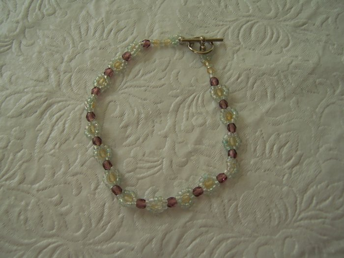 Beaded Bracelet or Anklet