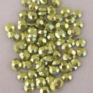 5mm Hot Fix Rhinestuds Light Green 1gross(144pcs)