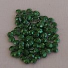 3mm Hot Fix Rhinestuds Green 1gross(144pcs)