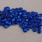 4mm Hot Fix Rhinestuds  Blue 1gross(144pcs)