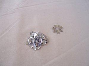 Hot Fix Rhinestud Water Drops 5x8mm Silver 1gross (144pcs)