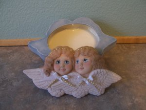 Ceramic Angel Ring Box