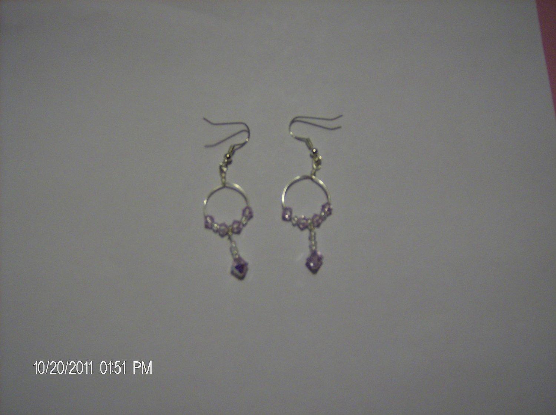 Crystallized Swarovski Element earring