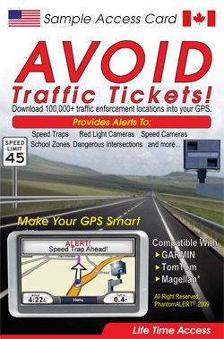 PhantomALERT Speed Trap + Red Light Camera + Speed Camera App 1-Month Subscription
