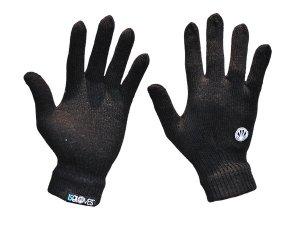 "ISGLOVES Simple Touch Screen Glove Black/Black Medium (6.75""-7.5"")"