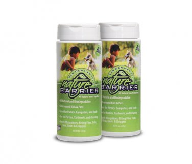 Nature Barrier Granular Insect Repellent with Essential Oils 10 oz Canister (Set of 2) NB001
