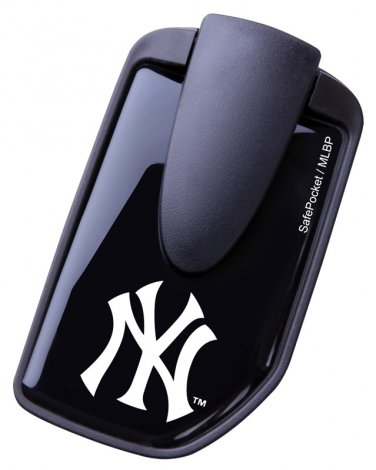 Safepocket New York Yankees Wallet with Money Clip
