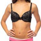 JoeyBra- Pocketed Fashion Bra, Snow Leopard, 32 C