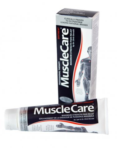 MuscleCare Professional Therapy maximum strength pain relieving ointment (4oz)