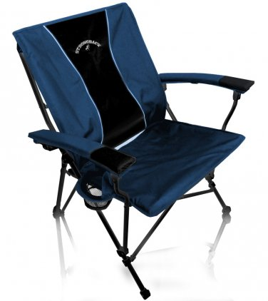 STRONGBACK Elite Camp Chair - Navy and Black