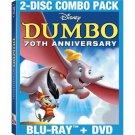 DUMBO 70th ANNIVERSARY EDITION BLU-RAY/DVD COMBO
