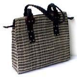 Square Braided Abaca Bag