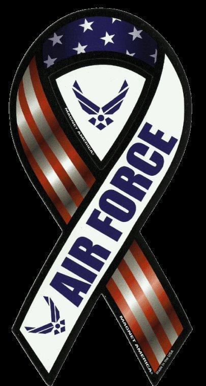 U.S. Air Force Ribbon Magnet