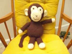 Monkey  Plush Toy Amigurumi