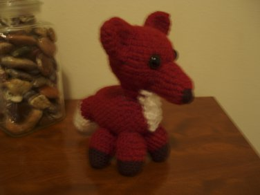 Amigurumi Fox plush cuddly child-safe