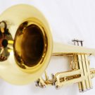 Brass Trumpet Bb Band Approved + Case + Soft White Gloves