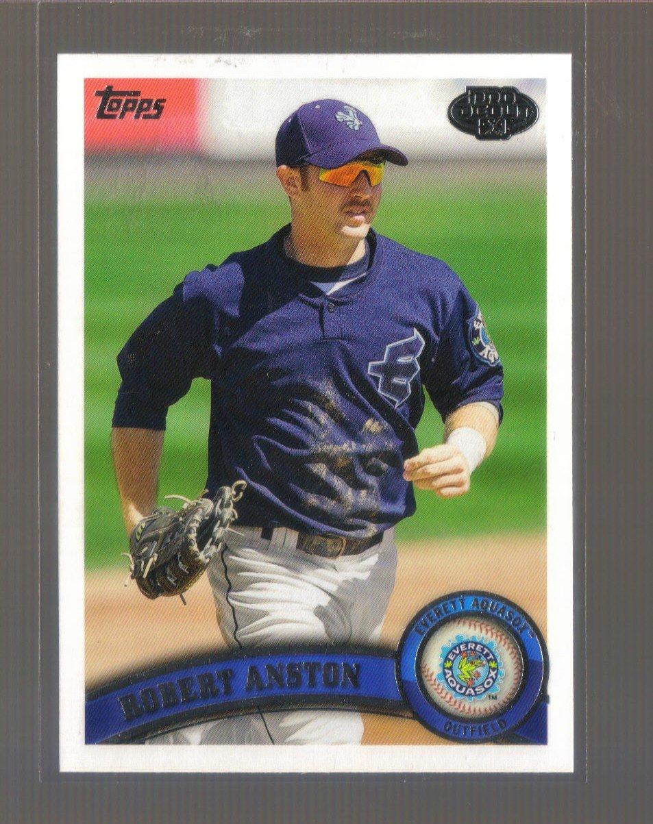 2011 Topps Pro Debut  #35  ROBERT ANSTON   Mariners