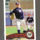 2011 Topps Pro Debut  #40  MIKE MONTGOMERY   Royals