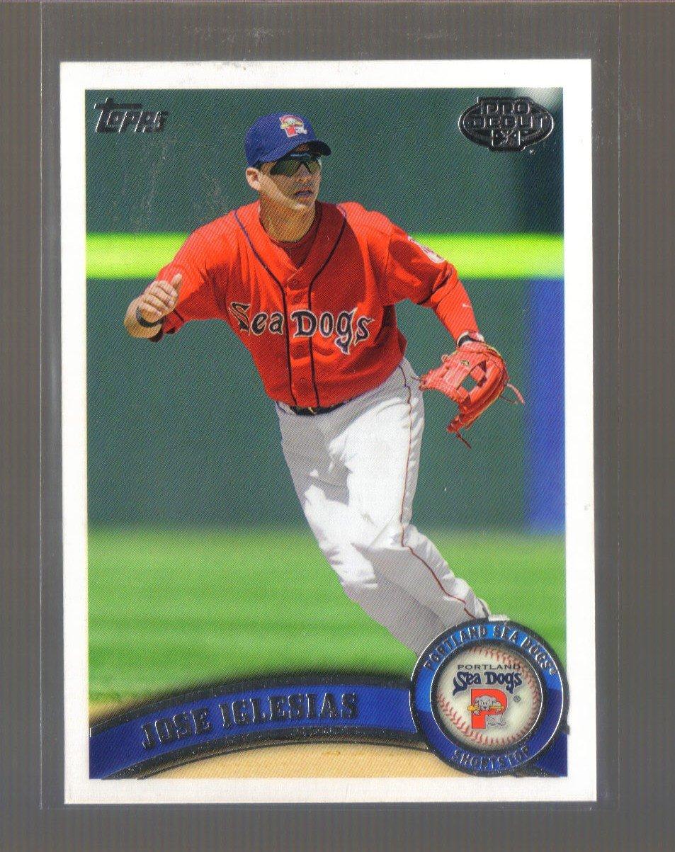 2011 Topps Pro Debut  #89  JOSE IGLESIAS   Red Sox