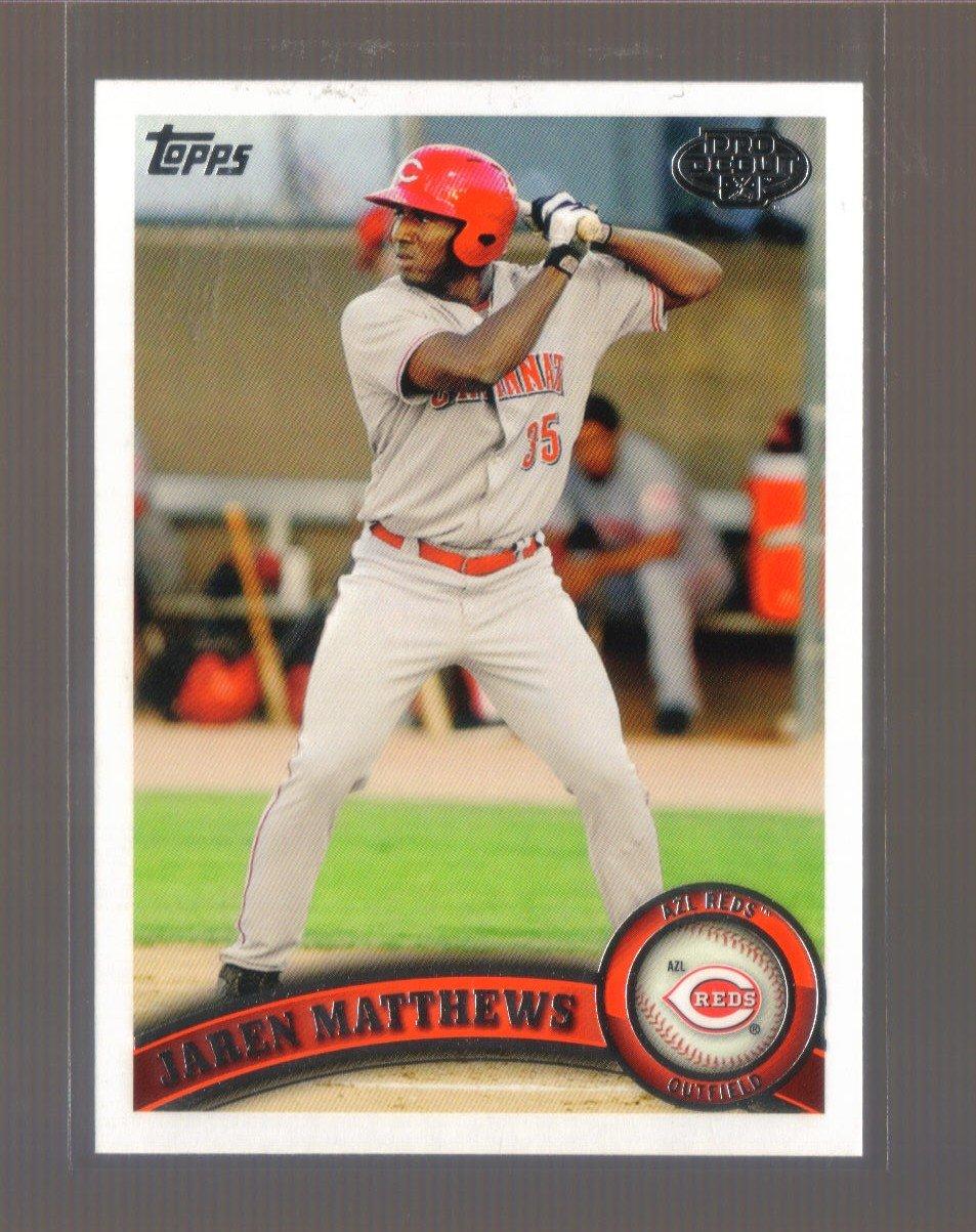 2011 Topps Pro Debut  #92  JAREN MATTHEWS   Reds