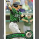2011 Topps Pro Debut  #94  NICK FRANKLIN   Mariners